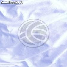 Pipe-and-drape white velvet fabric H: 4m x W: 3m (DR58)