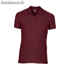 Piqué Polo Female GI758L-mr-m, Bordeaux