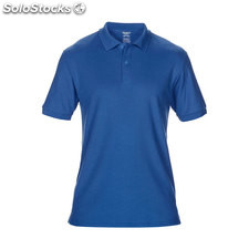 Piqué Polo GI7580-rb-m, Bleu royal