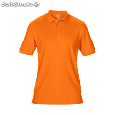 Piqué Polo GI7580-so-xl, Orange de sécurité