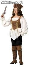 Pirate ladies deluxe costume