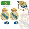 Piruleta chocolate silueta real madrid