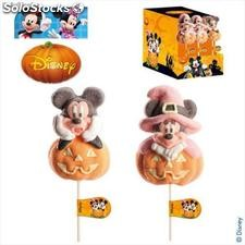 Piruleta Nube Halloween Mickey & Minnie Mouse
