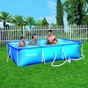 Piscina Bestway Familiar Splash Frame rectangular 300x201x66 - Cod. 56411