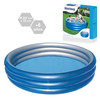 Piscina Big Metalic 201x53 cm