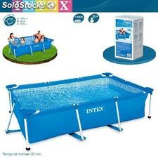 Piscina de PVC Intex Small Frame Familiar 220x150x60 cm 58983