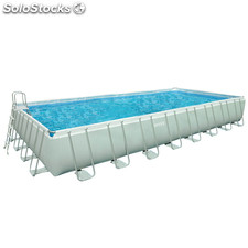 Piscina desmontable INTEX Ultra Frame rectangular 732X366X132 cm...