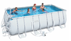 Piscina desmontable rectangular bestway Frame 488x274x122cm...