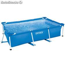 Piscina desmontable Small Frame Intex familiar 220X150X60 cm (sin...