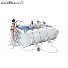 Piscina Desmontable Tubular Bestway Power Steel 287x201x100 cm. Ref. 56409