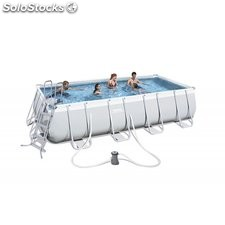 Piscina Desmontable Tubular Bestway Power Steel 488x274x122 cm. Ref. 56481