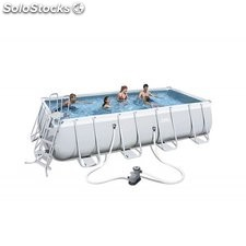 Piscina Desmontable Tubular Bestway Power Steel 549x274x122 cm. Ref. 56465