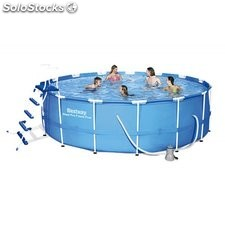Piscina Desmontable Tubular Bestway Steel Pro 457x122 cm. Ref. 56438SF