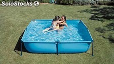 Piscina Gre Infantil Jet Pool Junior cuadrada 190x190x45 - Cod. WET200