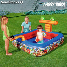 Piscina Hinchable Angry Birds 9555
