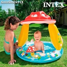 Piscina Hinchable con Sombrilla Seta Intex
