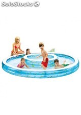 Piscina hinchable intex 2 en 1 279x36