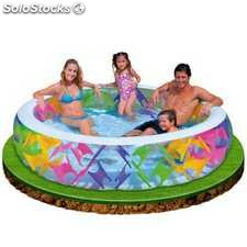 Piscina hinchable Intex Colores 229X56 CM - 772 L - cod. 56494