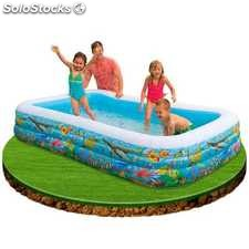 Piscina hinchable Tropical de Intex 305x183x56 cm - 999L - cod. 58485NP