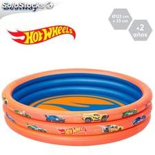 Piscina Hot Wheels hinchable 122x25cm