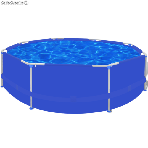 Piscina inflable azul 300 x 76 cm for Piscina inflable decathlon