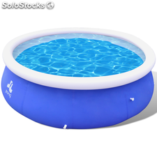 Piscina Inflable Azul 450 x 106 Cm