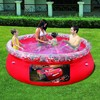 Piscina inflable desmontable licencia cars, medidas: 244 x 66 cm.