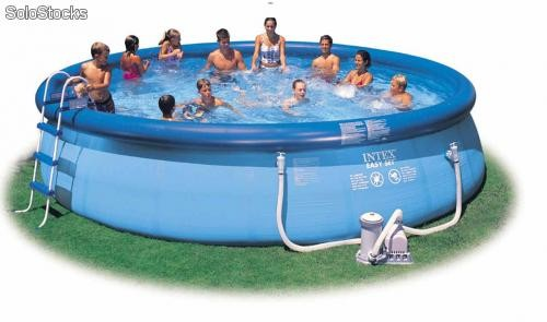 piscina intex metros litros