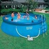 piscina intex familiar 20.647 lts escales ,depuradora