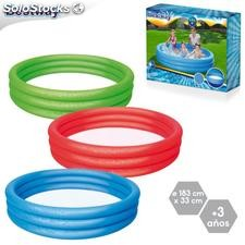 Piscina play pool 3 colores 183x30cm