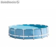 Piscina Pvc Circ 457X107Cm Cart 14614Lt Prism Intex