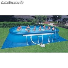 Piscina Pvc Ov 610X366X122Cm Cart 16628Lt Intex
