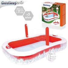 Piscina red volley 254x168x97cm