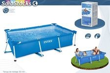 Piscina small frame familiar 220x150x60cm 1662l