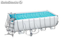 Piscina bestway rectangular frame 549 x 274 x 122 cm 15897 for Piscina tubular rectangular