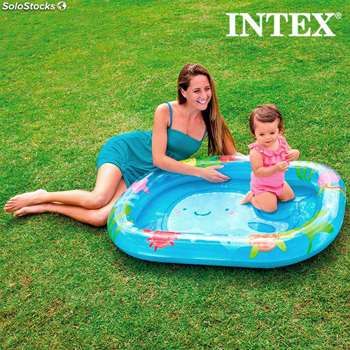 Piscine gonflable baleine intex for Piscine intex rectangulaire gonflable
