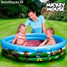 Piscine Gonflable Mickey Mouse Club House