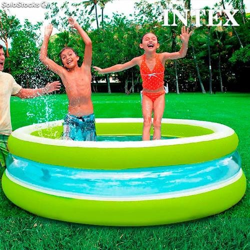 Piscine gonflable pour enfants intex 203 cm for Piscine gonflable intex