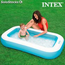 Piscine Gonflable pour Enfants Rectangle Intex