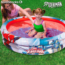 Piscine Gonflable Spiderman