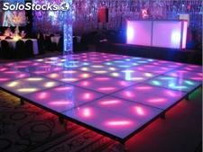 Pista de baile de led a todo color de full hd