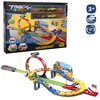 Pista looping completa y 4 coches