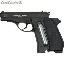Pistola Co2 Airsoft M84 Calibre 4.5mm Peso 720g Fps 414 35041