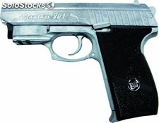 Pistola cromado CO2 4.5mm Cougart Airsoft