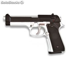 Pistola De Muelle Airsoft Hfc Pesada Cuerpo Pvc Calibre 6 Mm Color Mixta 35143