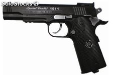 Pistola negro CO2 4.5mm Colt 1911 Airsoft