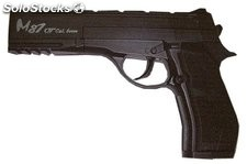 Pistola negro CO2 4.5mm M87 Airsoft