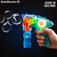 Pistola para Pompas de Jabón con Luz Junior Knows
