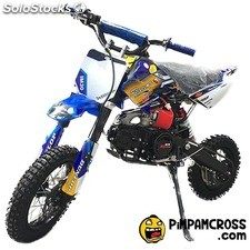 pit bike Kidcross 110cc semi automática im30 racing