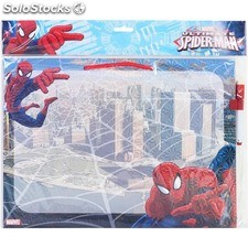 Pizarra borrable 30X40 cm c/rotulador spiderman - marvel - 8433774618249 -